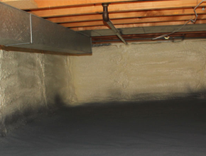 crawl space spray insulation for New Mexico